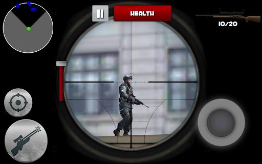 玩免費動作APP|下載Sniper City Assassin Soldier app不用錢|硬是要APP