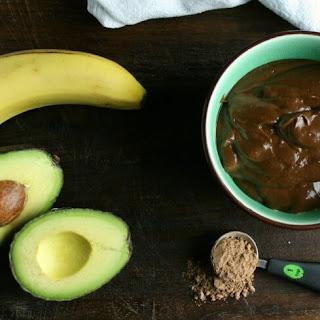 No-Bake Paleo Chocolate Avocado Pudding.