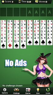Freecell No Ads - Spider Solitaire Without Ads Screenshot