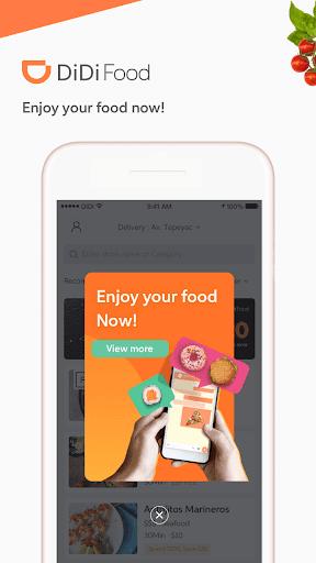 DiDi Food u2013 Food Delivery 1.2.44 Screenshots 1