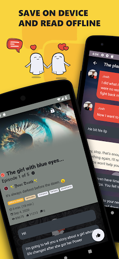 Scary, Love Chat Stories. Offline Chat Story Maker Apk 1