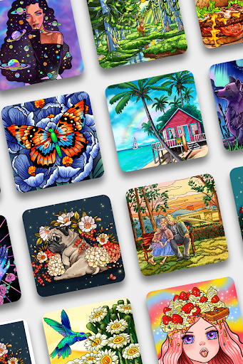Paint By Number - Free Coloring Book & Puzzle Game screenshots 21