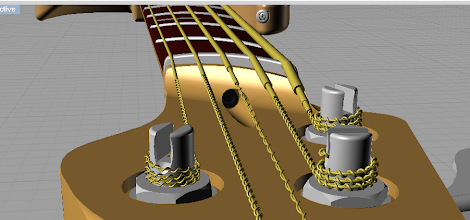 Photo: Truss rod access. Shows strings pretty nicely as well.