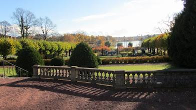 Photo: Näköala puutarhalta Töölönlahdelle.
