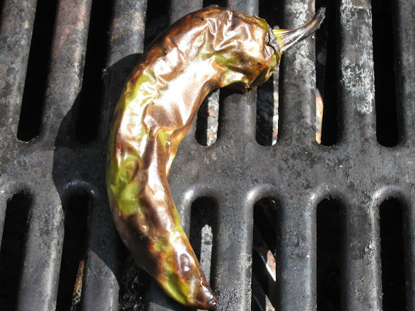 Fire Roasted Chilis/peppers Recipe