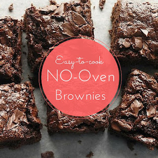 Easy-to-cook, NO OVEN, brownies