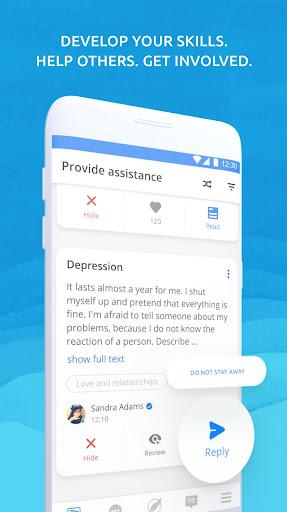 Helpcare - mental health chat Psychological help 7.4.0 screenshots 2