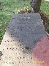 Photo: 43-Jonathan Hatt, died February 23rd 1871, aged 78 yearsElizabeth, wife of J.H. died February 7th 1860, aged 60 yearsJohn [Lowe] Hatt, son, died November 16th 1863, aged 26 years