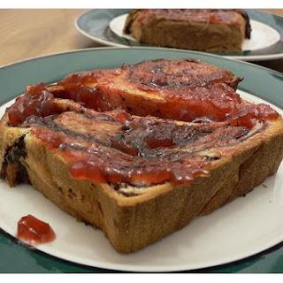 Rhubarb - Strawberry Jam.