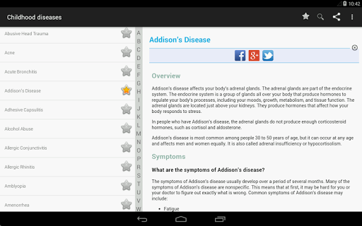 Pediatric Disease and Treatment (Free) 3.6.5 screenshots 16