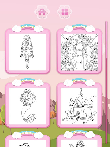 Princess Coloring Books for PC