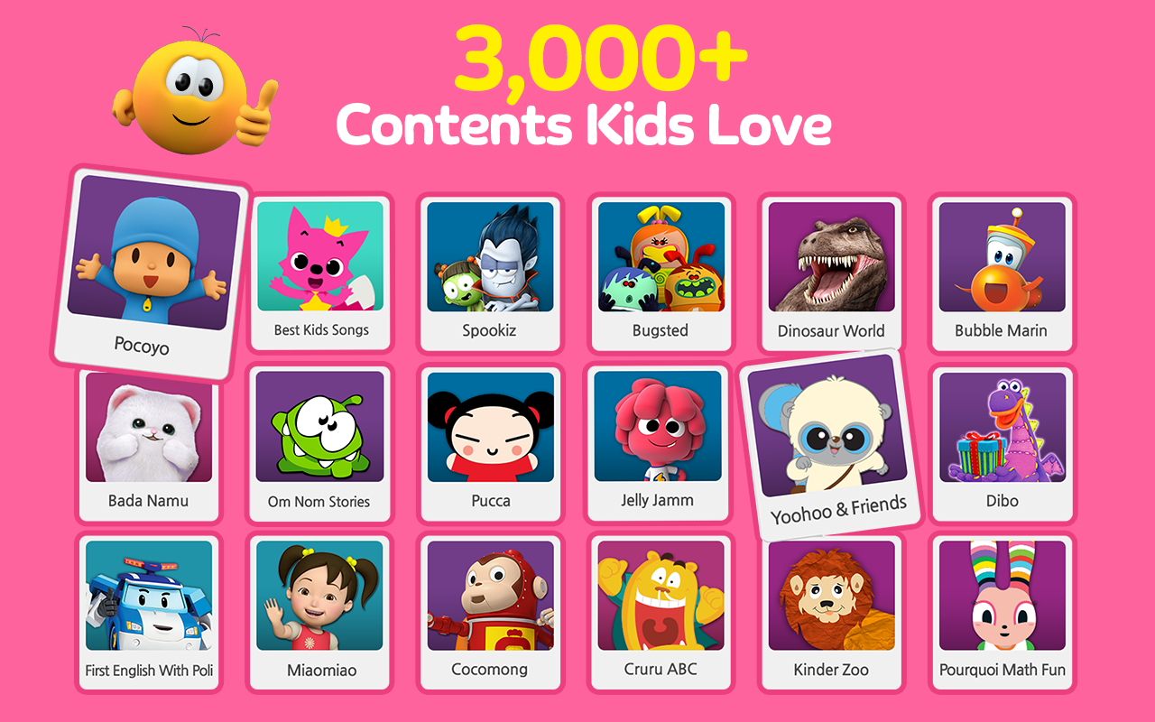 Kakao Kids-Best Fun & Edu App: captura de pantalla