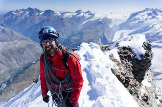 Photo: švýcarský vrchol Matterhornu