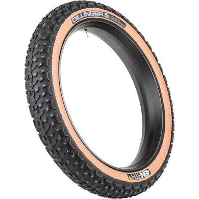 45NRTH Dillinger 5 Tire - 26 x 4.6, Tan, 60tpi, Studded