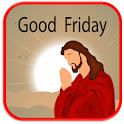 Good Friday Greetings Maker icon