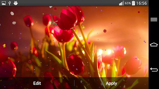 Flowers Live Wallpaper APK For Bluestacks