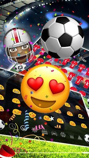 2018 Football Shoot Keyboard 10001002 screenshots 3