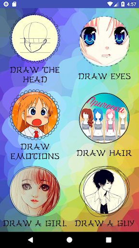 How to draw anime step by step Apk 2