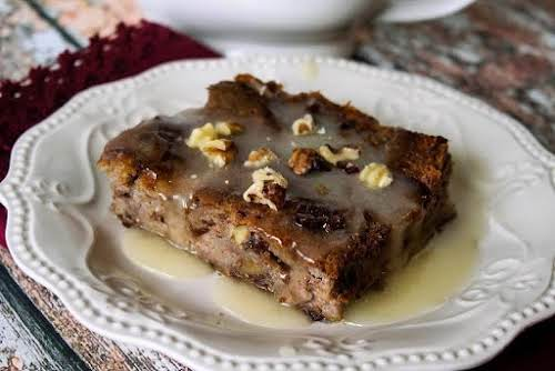 """Cranberry Walnut Bread Pudding A La Yum!""""I recently bought a loaf of..."""