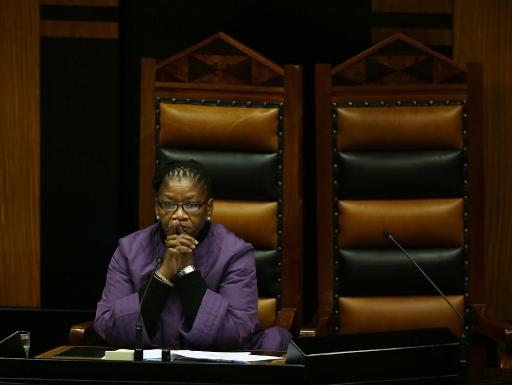 Modise declines secret ballot ahead of Ramaphosa no-confidence vote - SowetanLIVE