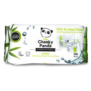 Cheeky Panda Anti-Bac Bamboo Multi Surface Wipes