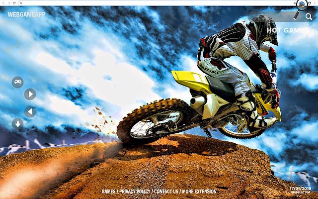 Motocross Fond D Ecran Hd Nouvel Onglet