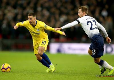 """Eden Hazard aussi a apprécié: """"Un feeling un peu étrange"""""""