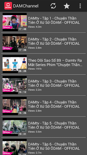 DAMtv Collection Videos