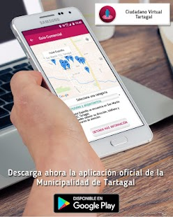 Ciudadano Virtual Tartagal: miniatura de captura de pantalla