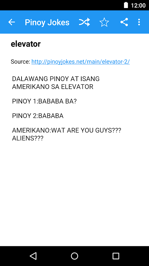 Pinoy Jokes- screenshot