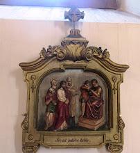 """Photo: *I. stáció: Pilátus halálra ítéli Jézust """"Akkor kezükbe adá Őt Pilátus, hogy megfeszítsék.""""  (Jn 19,16)"""