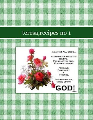 teresa,recipes no 1