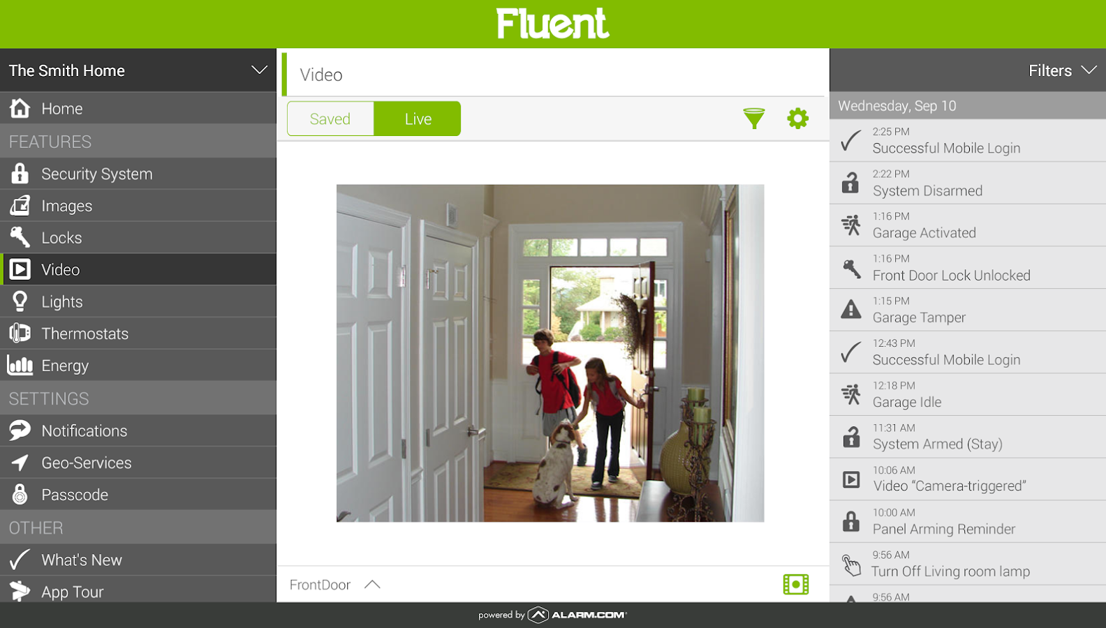 Fluent Home- screenshot
