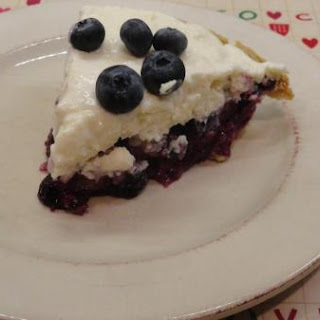 Upside Down Blueberry Pie Cheese Cake.