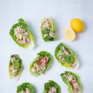Tuna Lettuce Wrap.