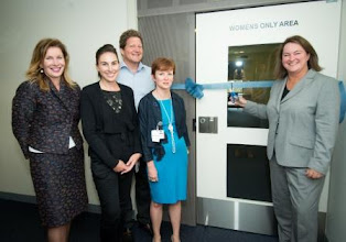 Photo: Visiting the new women's only unit at St Vincent's Mental Health Acute Inpatient Service