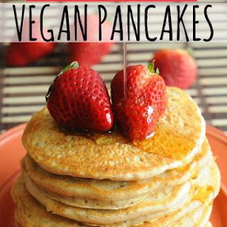 World's Best Vegan Pancakes.