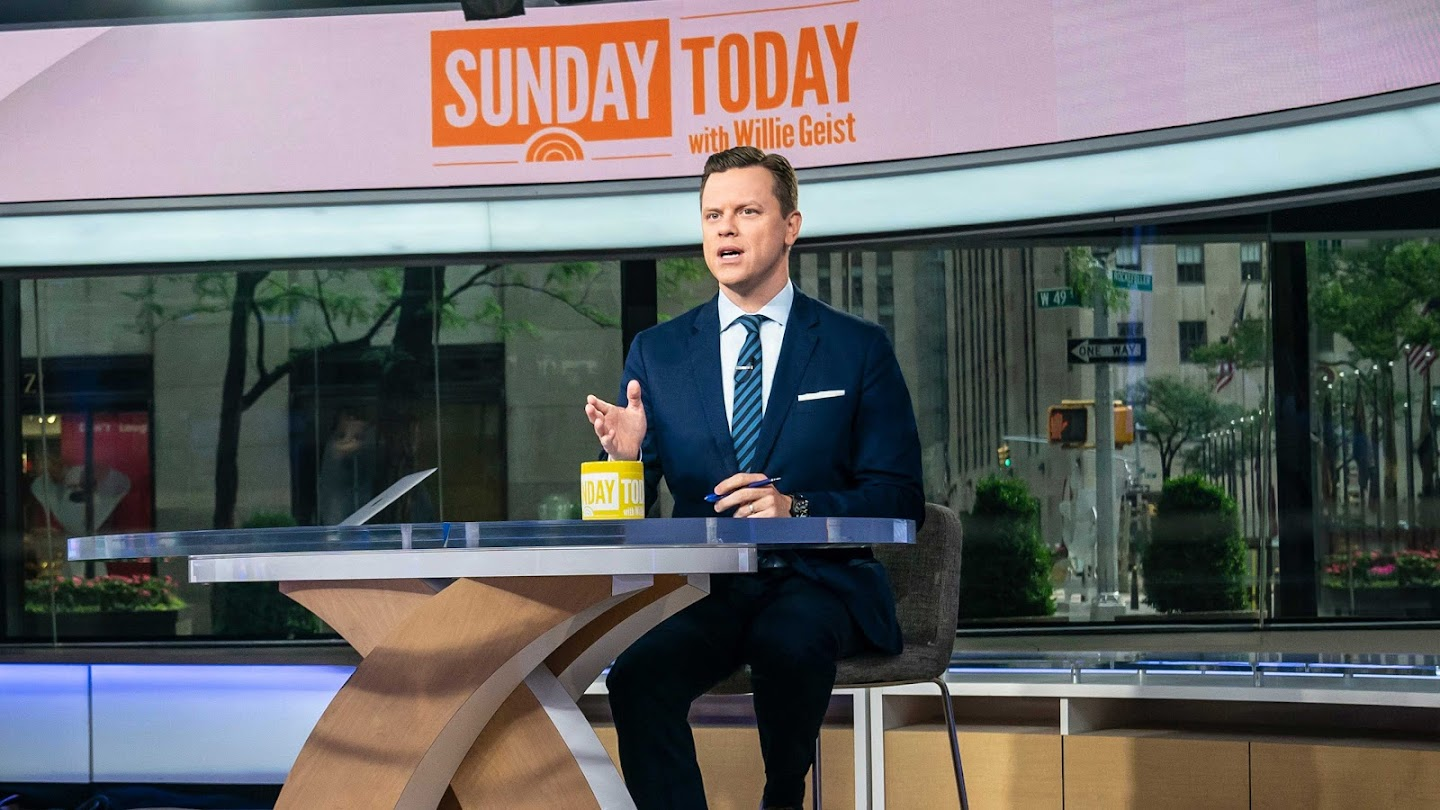 Watch Sunday Today With Willie Geist live