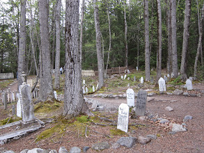 Photo: Skagway goldrush cemetery