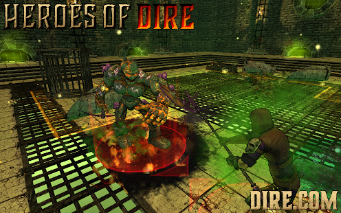 Heroes Of Dire- screenshot thumbnail