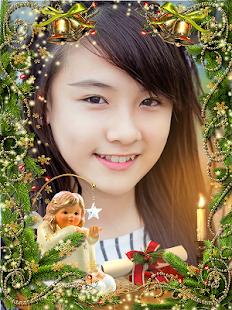 Vánoční foto rámeček - náhled