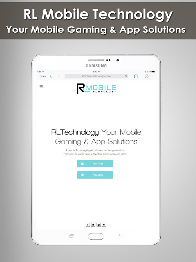 RL Technology - App Services- screenshot