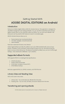 Adobe Digital Editions APK screenshot thumbnail 10