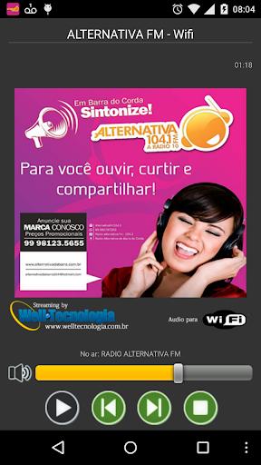 ALTERNATIVA FM BARRA DO CORDA
