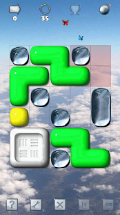 Sticky Blocks Sliding Puzzle - náhled