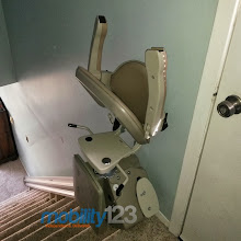 Photo: Stair Lift Ventnor Mobility123