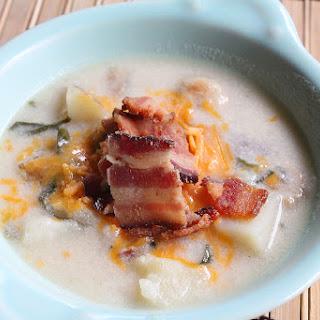 Loaded Steakhouse Potato Soup Recipe
