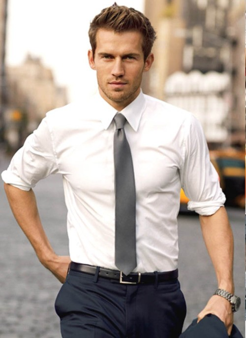 2. When you wear a secure shirt with the sleeves moved most of the way up.