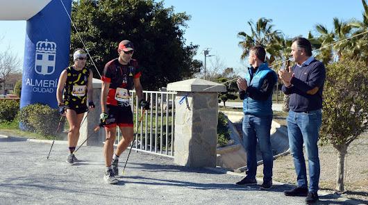 La II Marcha Nórdica en Almería, un éxito