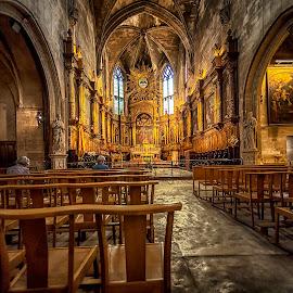 Notre Dame des Ange,Ise de la Sorque by Stanley P. - Buildings & Architecture Places of Worship
